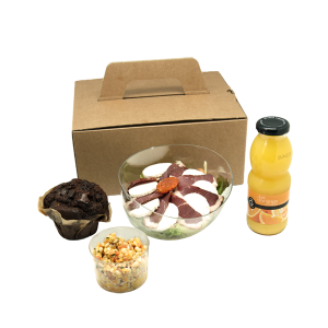 salade box tranches magret de canard pour vos repas en entreprise en livraison à Tours, 37