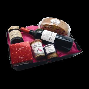 corbeilles gourmandes pour remerciements en entreprise, livraison à Tours (37)
