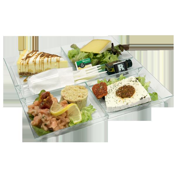 Plateau repas saveur de la mer pour vos repas du midi en livraison au bureau à Tours, 37